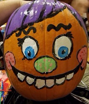 Painted Pumpkin 2016