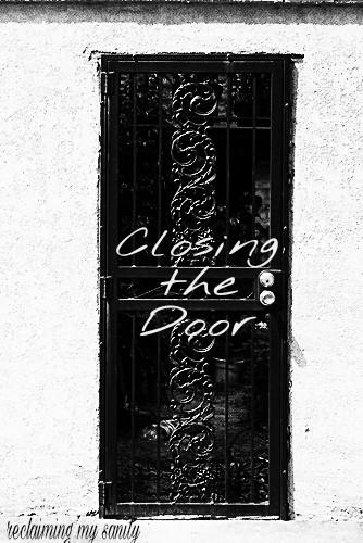 Closing the door on toxic relationships