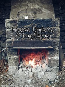 Fireplace mantle diy